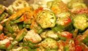 Spiced Okra