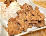 Spicy Beef With Coconut Milk