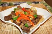 Spicy Beef With Bamboo Shoots And Oyster Sauce