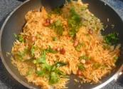Spicy Indian Cabbage Rice