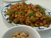 Spicy Chicken And Peanuts