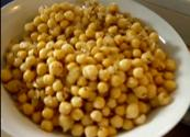 Stir Fried Chick Peas