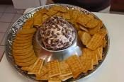 Spicy Ham And Cheese Ball Appetizer