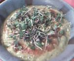 Raw Mustard Greens Soup