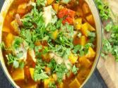 Spicy Peanut Chicken Stew