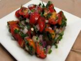 Lynn&#039;s Fresh And Spicy Grape Tomato Salad