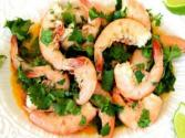 Spicy Lime Cilantro Shrimp