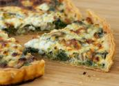 Spinach And Cheese Flan