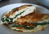 Low-carb Spinach And Feta Omelet