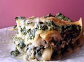 Spinach &amp; Mushroom Lasagna
