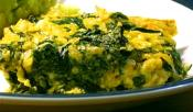 Green And Yellow Rice
