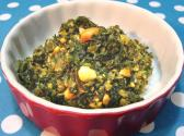 Spinach And Peanut Bhaji
