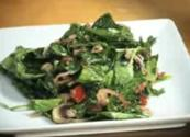 Wilted Spinach Bacon Salad