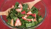 Tangy Spinach Salad With Fruit