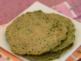 Sprouts Pancakes (healthy Breakfast) By Tarla Dalal