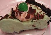 St. Patrick's Day Green Grasshopper Pie