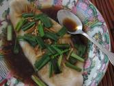 Steamed Fish With Ginger And Green Onions