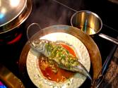 Steamed Whole Fish In A Wok