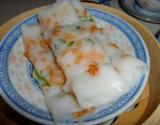 Chinese Steamed Rice Noodle Rolls (cheung Fun) Dim Sum