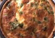 Stilton Cheese And Broccoli Quiche