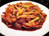 Stir-fried Squid Dish