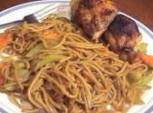 Chinese Stir Fried Noodles