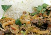 Stir Fried Beef And Lemon Grass