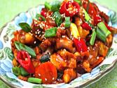 Stir-fried Spicy Small Octopus (매운 낚지 볶음)