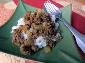 Thai Stir Fry Curry Ground Beef