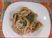 Gluten And Dairy Free Stir Fry With Rice Noodles