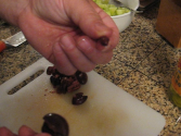 The Right Way To Stone Olives