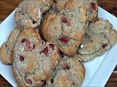 Heart-shaped Strawberry Scones - Gluten Free Valentine's Day