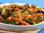 Stuffed Bhindi With Paneer By Tarla Dalal