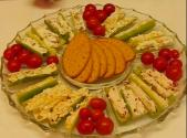 Easy To Make Stuffed Celery Relish Platter