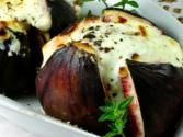 Stuffed Figs With Prosciutto And Buffalo Mozzarella