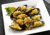 Mussels Stuffed With Spinach