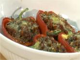 Organic Stuffed Red Peppers