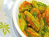 Bharela Tindora Or Giloda - Stuffed Ivy Gourd