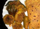 Stuffed Masala Vegetables
