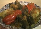 Mediterranean Stuffed Vegetables