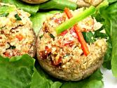 Special Raw Stuffed Mushrooms