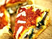 Stuffed Pizza (spinach And Mushrooms)