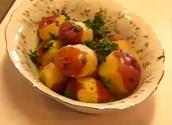 Betty's Subtly Savory Parsley-buttered New Potatoes