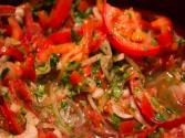 Summer Herb Tomato Salad