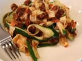 Sun Dried Zucchini Pasta- Raw Cuisine By Melissa Henig And Jon Ham