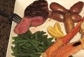 Tasty Surf & Turf With Potatoes