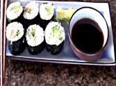 Homemade Sushi Rolls