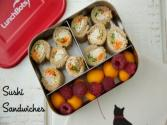 Sushi Sandwiches - Easy School Lunch