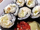 Easy Homemade Sushi Rolls (philly Roll)