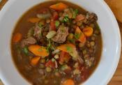 Sutro Heights Lentil Soup